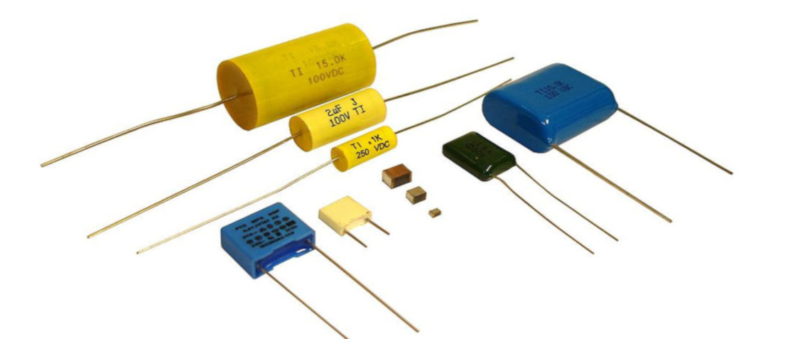 Capacitors Comparison Charts