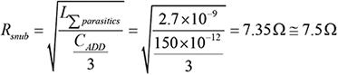 Step 7. Calculate Rsnub