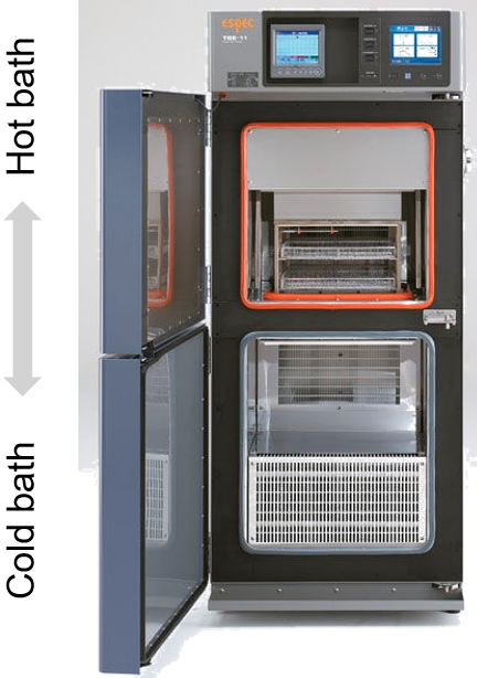 In-house temperature cycling capabilities