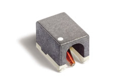 Surface mount broadband conical inductor