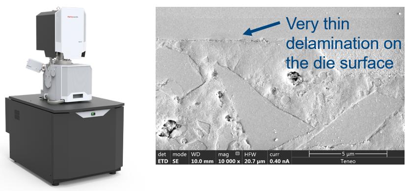 Ultra High resolution FE-SEM verification