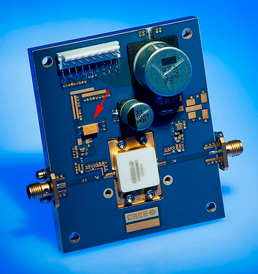 RF GaN Power Amplifier