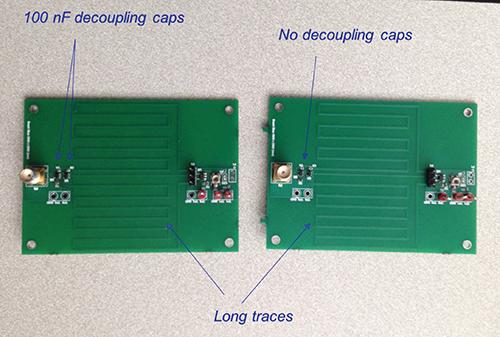 CMOS Inverter board