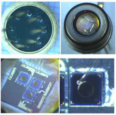 Single PackageTriple Photodiodes