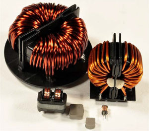 Different-types-of-inductors-common-mode-chokes-and-surface-mount-power-choke-300x264