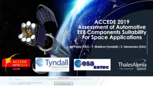 Assessment of automotive EEE Components Suitability for Space applications