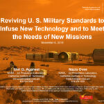 Reviving U.S. military standards to infuse new technology and to meet the needs for new missions