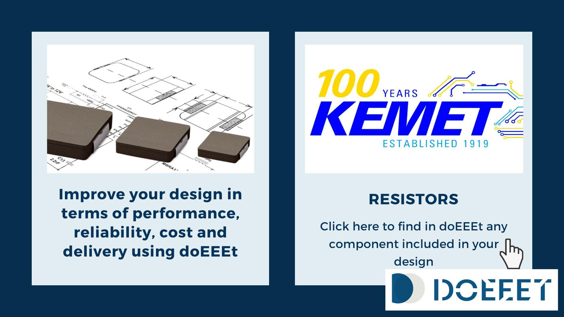 Banner resistors KEMET