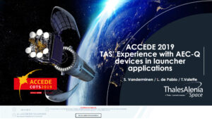 TAS Experience with AEC Devices in Launcher applications