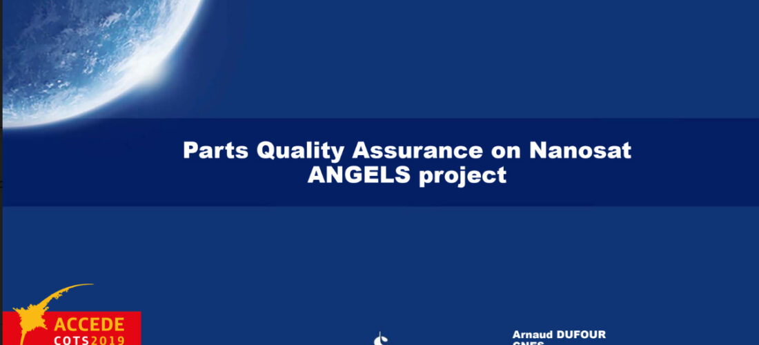 Feedback about the Nanosat ANGELS