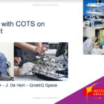 Experience with COTS components on ADPMS unit (PROBA satellites)