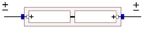 Figure C3-18. Fundamental construction of solid tantalum capacitor in back-to-back connection.