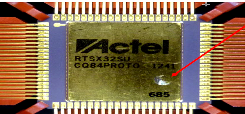 MICROCHIP FPGAs EXTERNAL VISUAL INSPECTION CONSIDERATIONS