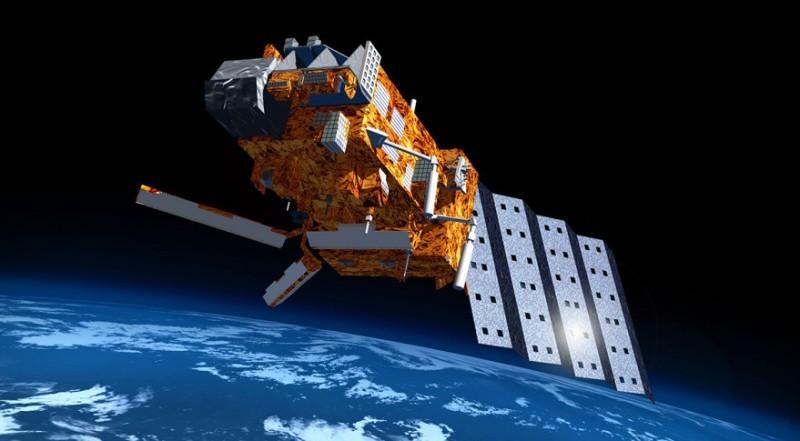 MetOp-A spacecraft in orbit