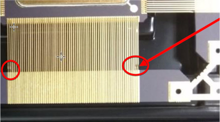 Notch located on lead frame side