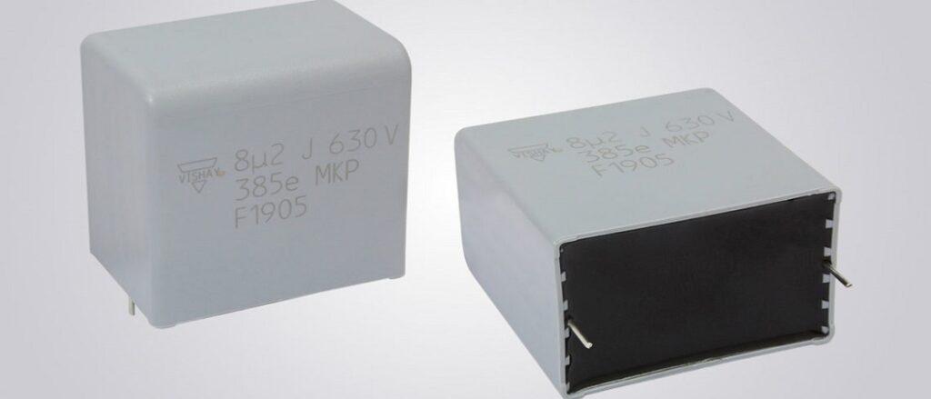 Vishay Introduces Automotive Grade AC and Pulse Polypropylene Film Capacitors