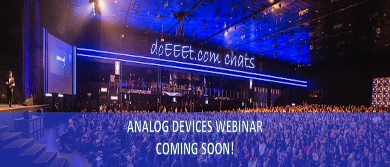Webminar Analog Devies