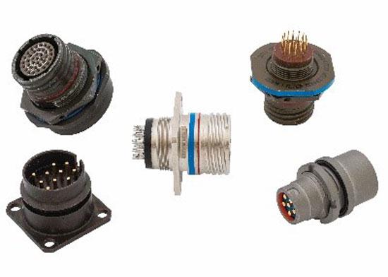 Fig. 17. Filtered mil-circular connectors have a maximum capacitance of 50,000.