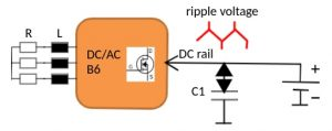 State of the art AC motor control applies power switch transistor arrays