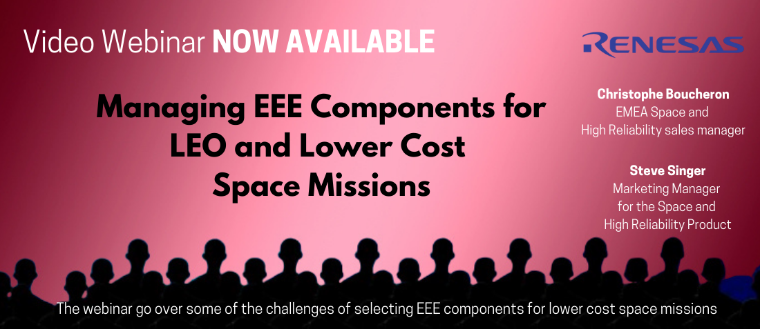 LEO and Lower Cost Space Missions Past Webinar