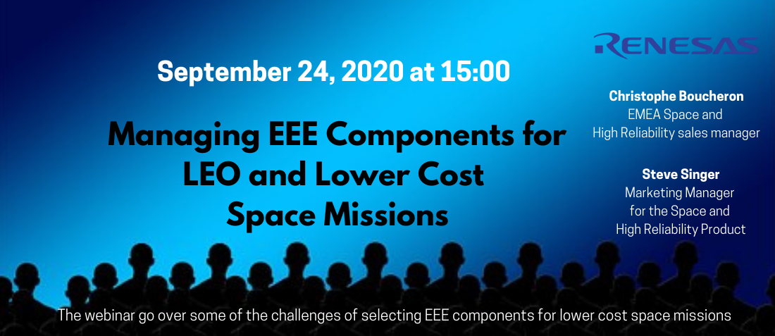 LEO and Lower Cost Space Missions Webinar