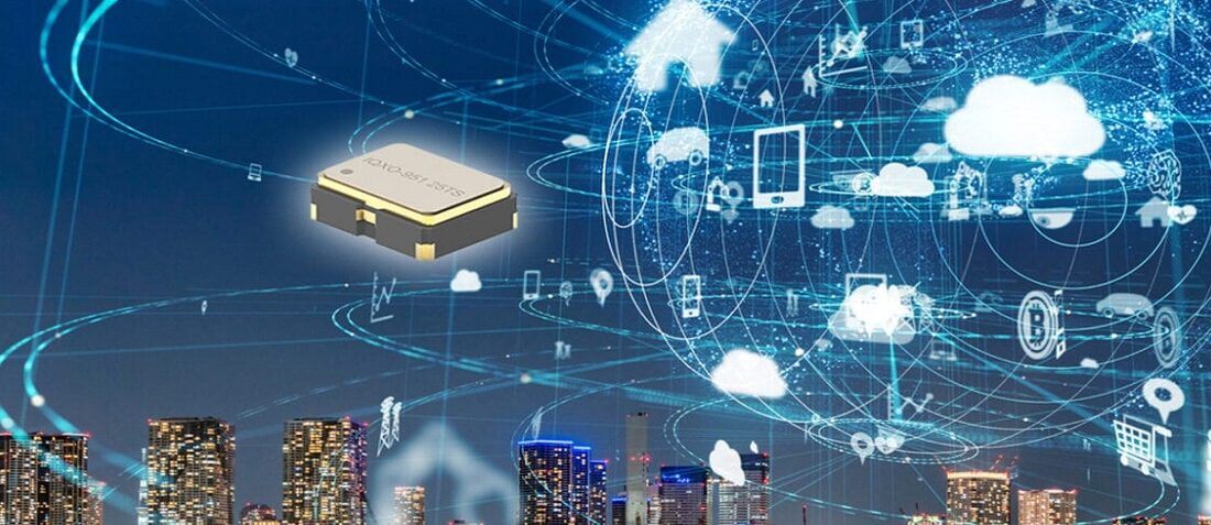 New Tight Stability, Variable Supply Voltage Clock Oscillators for Battery-Powered Applications