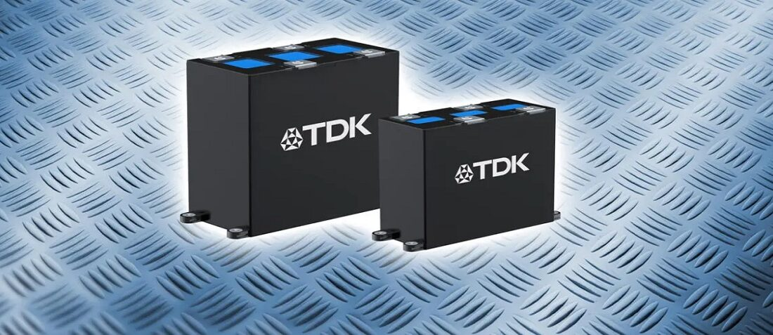 TDK Releases ModCap™ – a Modular Power Capacitor Concept for DC Link Applications