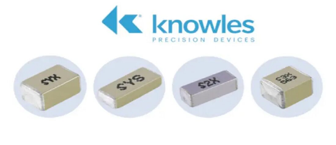 Knowles Precision Devices Expands its Enhanced Safety-Certified SMD MLCC Capacitors