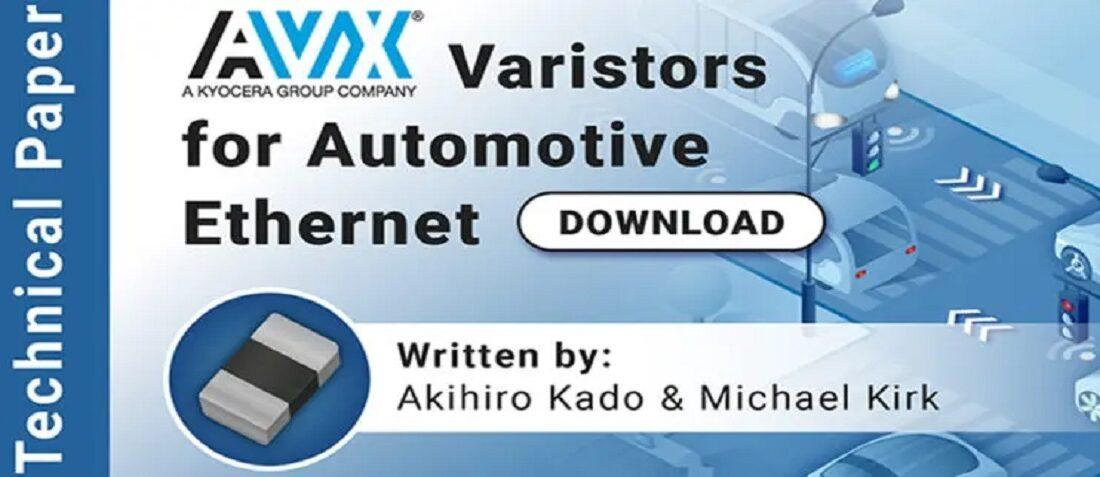Varistors for Automotive Ethernet