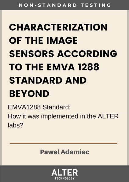 Characterization of the Image Sensors